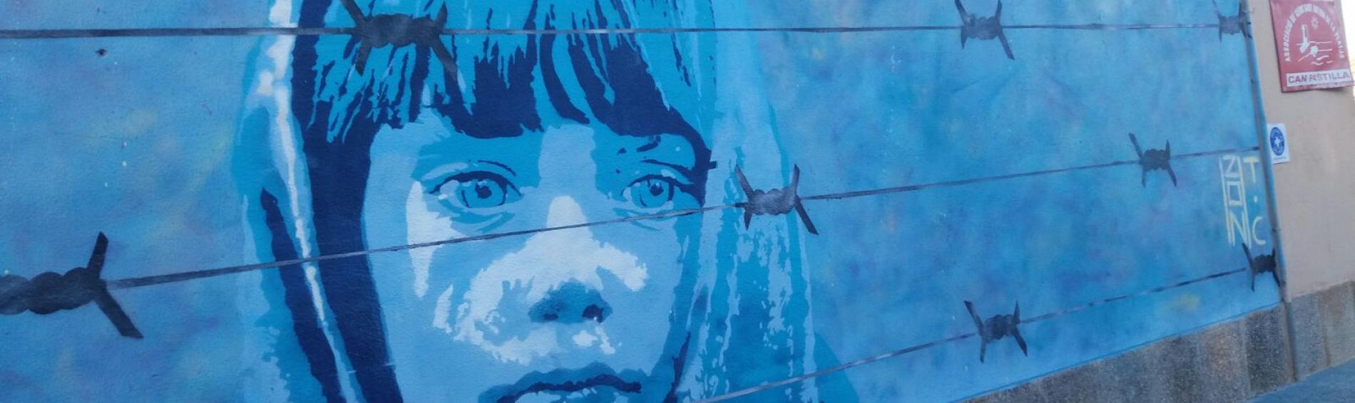 Grafitti del festival de arte urbano 2016