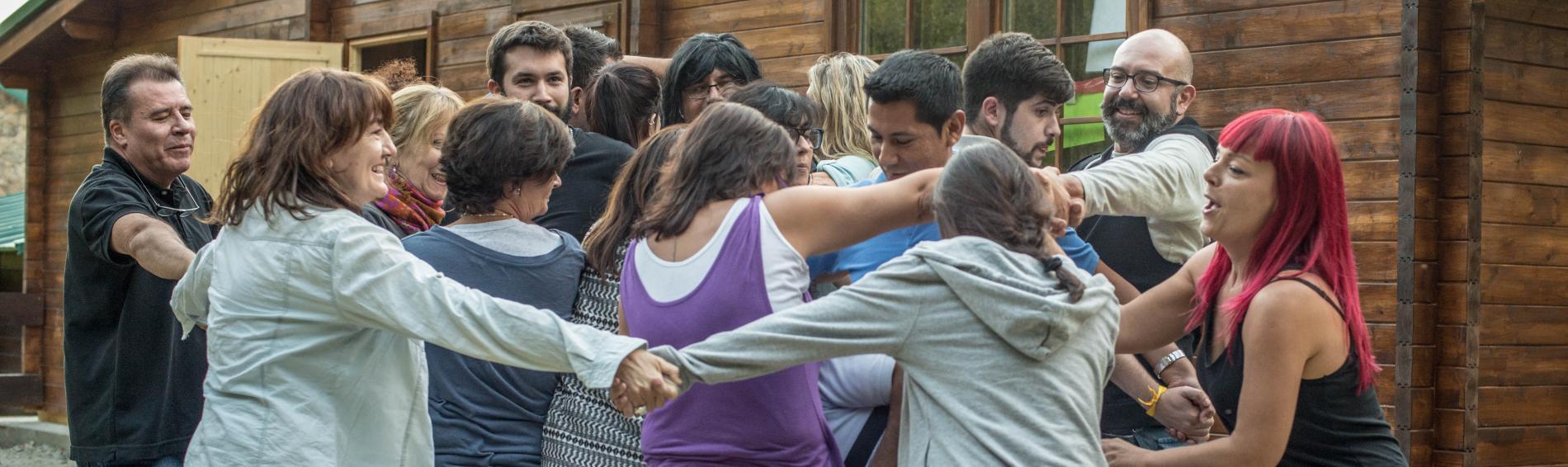 Grupo de voluntariado de Médicos del Mundo Madrid