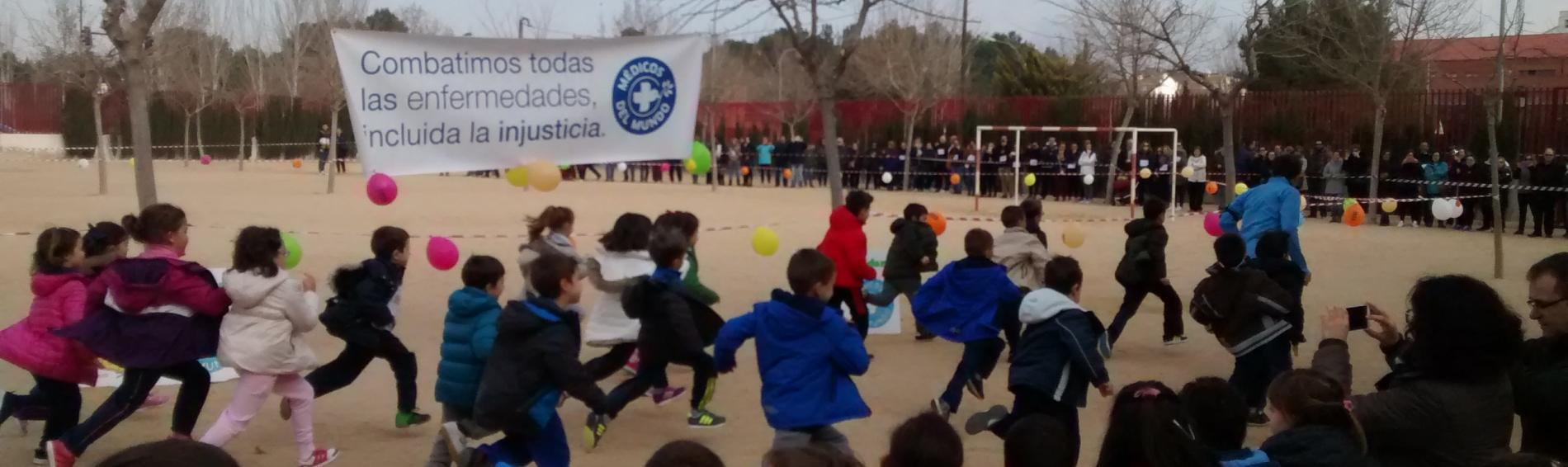 Carrera solidaria en Albacete de Médicos del Mundo