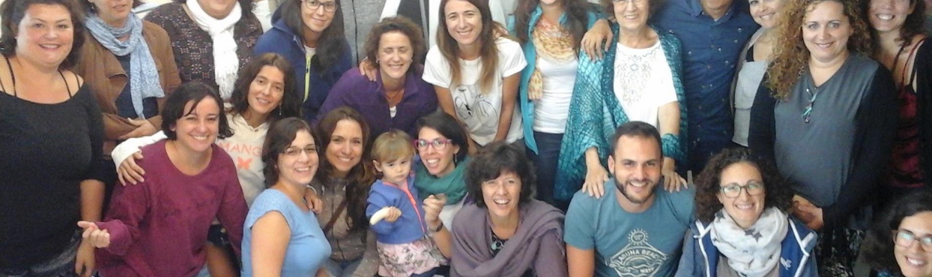 equipo de voluntariado de Mëdicos del Mundo Canarias