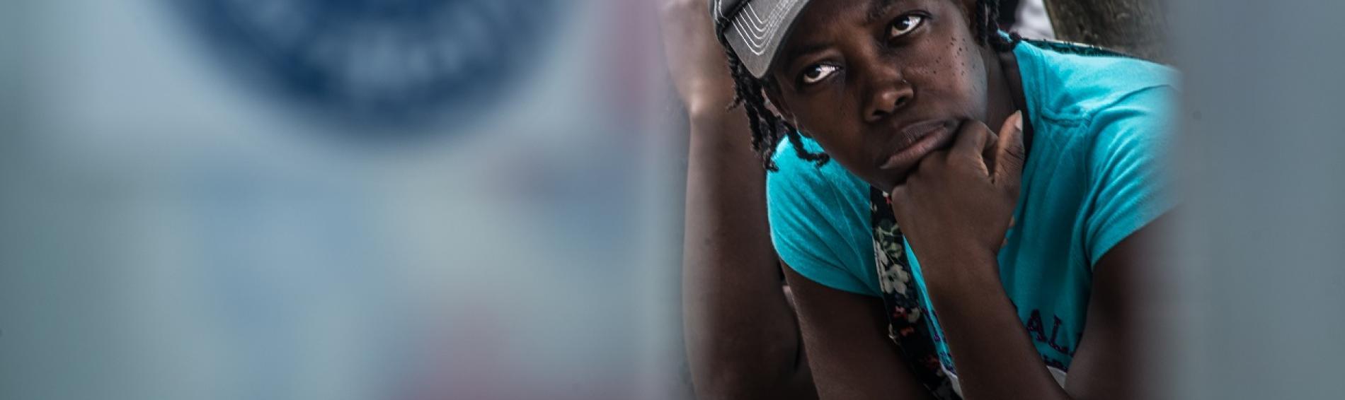 imagen tomada en Haití por el fotógrafo Alex Zapico