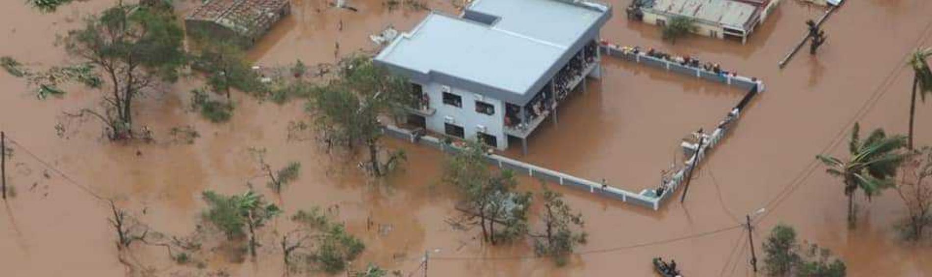 Inundaciones tras el ciclón Idai en Mozambique