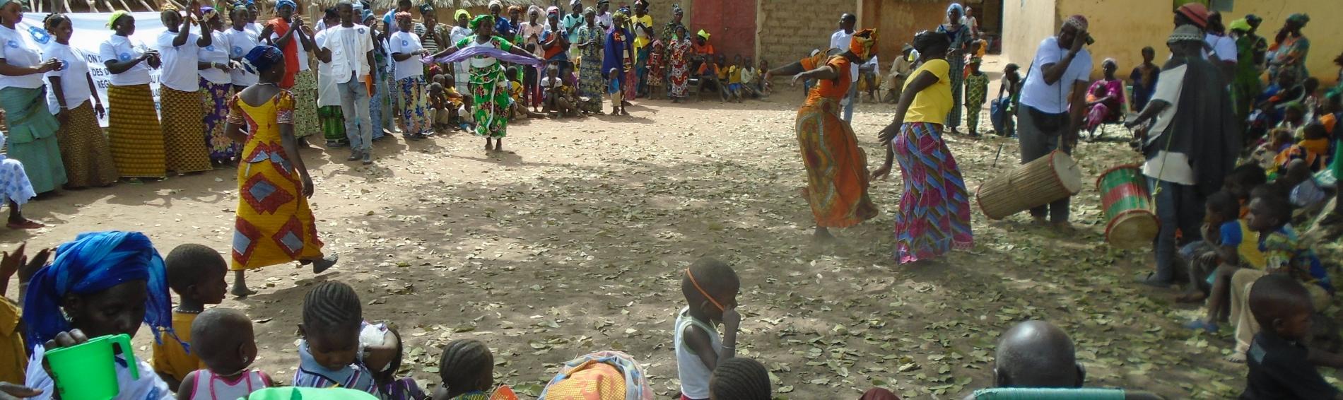 Celebración del Día de la Mujer en Malí