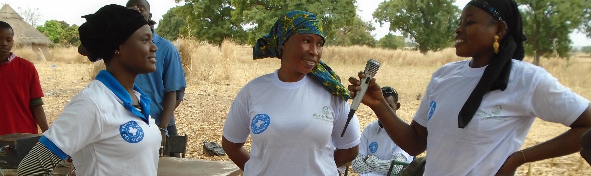 campaña de sensibilización en Malí