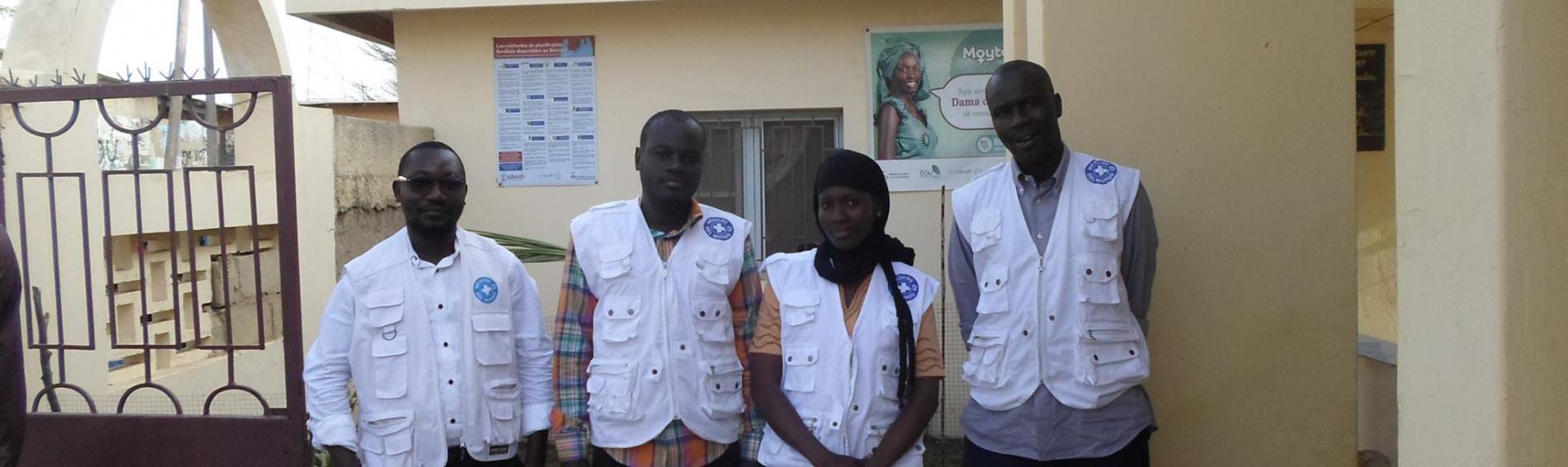 personal local de Médicos del Mundo en Senegal