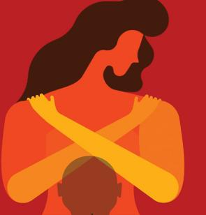 Ilustración de Naciones Unidas en el Día de la erradicación de la violencia contra las mujeres, 25 de noviembre.