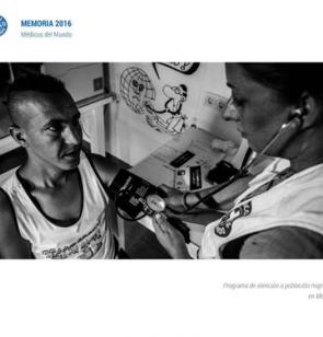 portada memoria 2016 de Médicos del Mundo