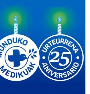 25 aniversario Munduko Medikuak