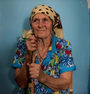 Nadezhda Korbut sufre los efectos de la crisis en Ucrania