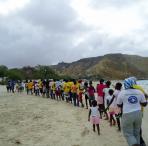 Acto contra el SIDA en Baia Azul