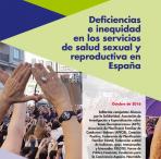 Portada del informe sobre Salud Sexual y Reproductiva 2016