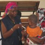 pruebas pediátricas en Mauritania