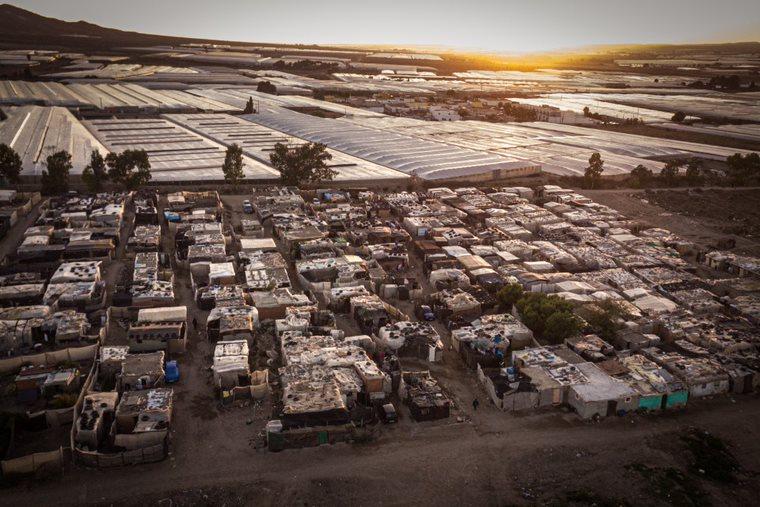 Asentamientos informales de chabolas en Níjar, Almería. © Ignacio Marín