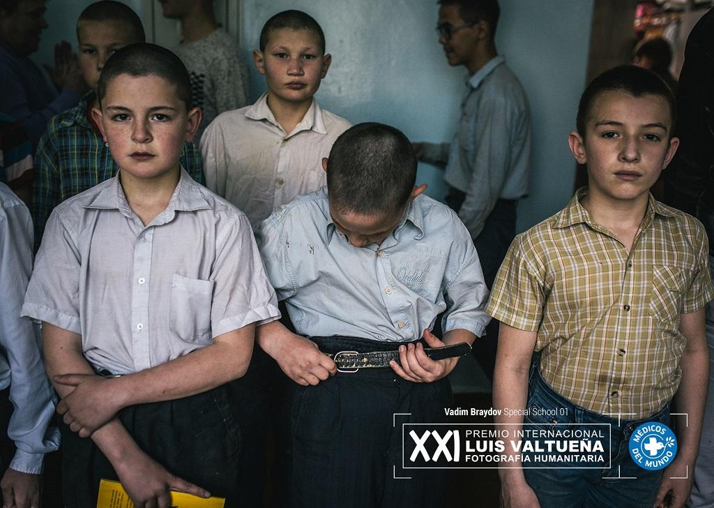 Fotografía de la serie Special School del fotógrafo Vadim Braydov